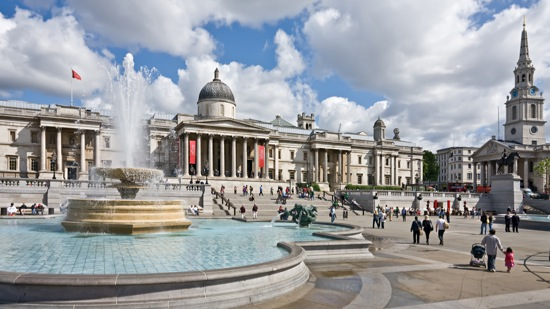 Header image for A Day Out in Trafalgar Square, London