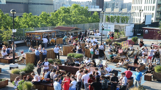 Header image for Outdoor Screens and Al Fresco Pop-Ups as London Gears Up for the Summer